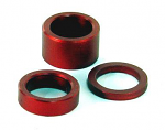 "5/8"" x 1/2"" Red Front Wheel Spacer"