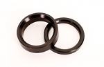 "3/4"" x 1/8"" Front Wheel Spacer, Black"