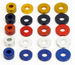 WildKart Aluminum Flat Spacer Washer