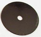 Flat Large OD Seat Washer, Black