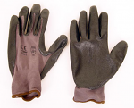 Comet Rubber Palm Work Gloves TEN PAIR