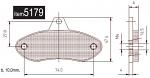 5179 Wildkart (Proton) Front Brake Pads