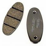 Enginetics 303 Rear Pads - Standard Black