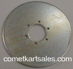"Hurst Airheart 3300-1002 6"" X 3/16"" Brake Disc"