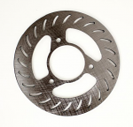 MCP 611 Rear Brake Disc 6 inch, Slotted