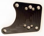 Comet Brake Caliper Adapter Plate, Aluminum