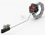 KB260N Righetti Ridolphi Self Adjusting Brake Caliper and Master Cylinder Kit