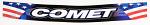 Comet Kart Sales Helmet Visor Strip Decal