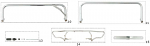 11. FC0.00391 CRG Rear Bumper 610mm