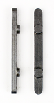 PKT 60mm Long Axle Key, Pegs are 30mm on Center x 6mm Diameter, 6mm Wide