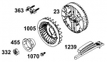 1239. 19433 Briggs Animal Flywheel Wrench