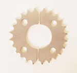 24-29t Aluminum Rear Sprocket, Two Piece, Quarter Midget