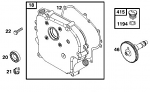 12. Briggs Flat Head Side Cover Gasket