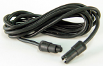 Mychron Black Plastic Round Ends Extension Lead