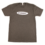 Comet Racing Engines White Logo T-Shirt