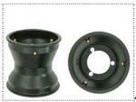 """4. AFS.00943 CRG Pattern 130mmx5"""" Magnesium Front Wheel with Beadlocks"""