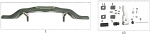 1. AFS.01701 CRG Plastic Rear Bumper Only
