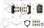 17. FM0.00178 CRG Rear Brake Caliper Ven04 Complete