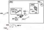 797. 555380 World Formula Brush Retainer Nut