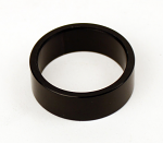 25mm Aluminum Black Spindle Spacers