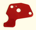 "DJ-1375 ARC Clone Restrictor Plate, Red .375"" Hole Size"