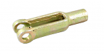1/4-28 Steel Clevis for Throttle and Brake Rods