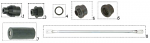1. SAN.00564 CRG Internal Bumper Bushing 28mm