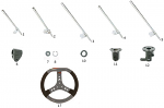 4. FC0.01513 CRG Steering Wheel Shaft 100cc