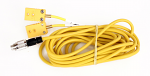 Mychron 10 Foot Long 2T Double Yellow Patch Cable