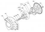 (357A)  X30125550-C 10T Clutch Drum