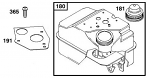 555220 Raptor Fuel Tank Insert Baffle