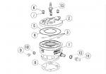 3. PRD-2015 Stud O-Ring (12.5x1.8mm)*
