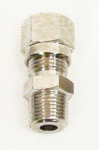 6mm Metric Straight Compression Fitting