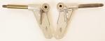 Arrow AX9-125 Shifter Spindle, 17mm Shaft, 10mm Kingpin Bearing
