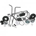 "3541 Mini Bike Kit with 6"" Aluminum Wheels"
