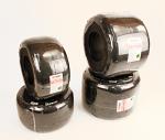 "Evinco SKM Red 4.60/7.10 x 5"" Slick Kart Racing Tire Set"