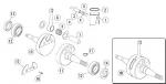 18. PRD-4096 Crankshaft Assembly 12mm