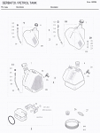 150. 10.6482.00 Birel Sticker Kit 8-10 Liter Tank