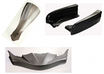 CIK FP7 Complete CIK Bodywork Kit EVO STILO Pods Less Hardware