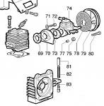 74. (S060-074) K80 HL395A Stock Carburetor