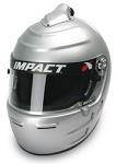 Impact Racing Adult Vapor SC Helmet, Silver