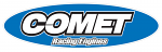 Comet Racing Engines Sticker - New Style Blue/White Oval