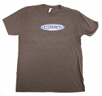 Comet Racing Engines T-Shirt with Blue Logo