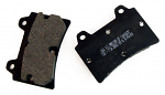 DPE-BDHL5/1 Arrow OEM 11mm Thick Hard Rear Brake Pads for 125cc Shifter Kart and Arrow X3