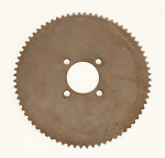 #470 72 tooth #35 Steel, One Piece Sprocket