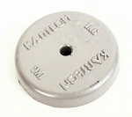 Kartech T50/1 1kg (2.2 lbs) Round Lead Weight