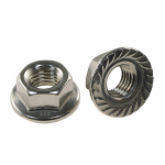 3/8-24 Serated EZ Spin Flange Nut