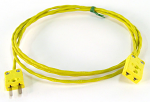 Mychron Yellow Box Ends Patch Cable (1 Male, 1 Female - Yellow Ends)