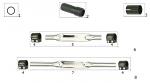 7. FC0.01092 CRG Stabilizer Rear Bar, Flat, 30mmx480mm