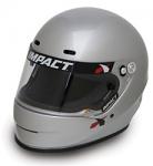 Impact Racing 1320 Silver Helmet